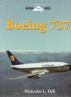 Boeing 737 von Malcolm L. Hill Englisches Buch über Flugzeuge