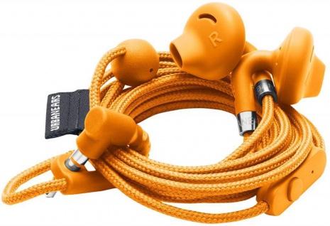 Urbanears Sumpan In-Ear Headset Orange Ohrhörer Kopfhörer Mikrofon Fernbedienung