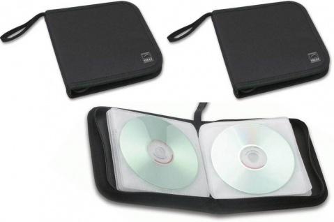 Speedlink 2x Pack CD-Tasche DVD Wallet 24x CD DVD BluRay Disc Booklet Case Hülle