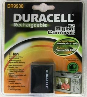 Duracell Li-Ion Akku für Panasonic DMW-BLB13 DMW-BLB13E DMC-G1 DMC-G1WEG-K etc