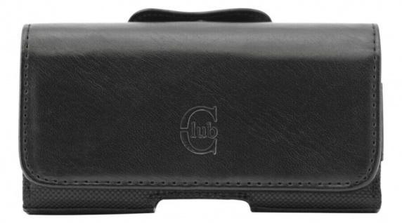 Bigben Club Medium Handy-Tasche Schutz-Hülle Case Gürtel-Tasche Quertasche Etui
