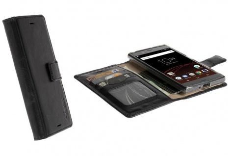 Krusell Folio Wallet Tasche Smart Schutz-Hülle Cover für Sony Xperia XZ / XZs