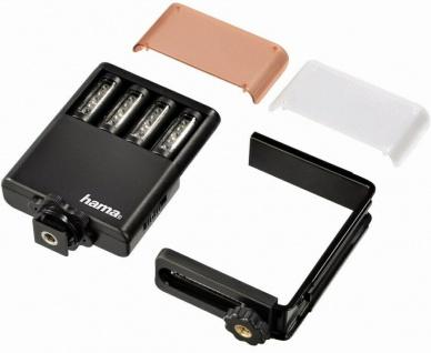 Hama LED-Leuchte Power Foto/Video Fotolicht Blitzschuh Kamera Licht Kopflicht