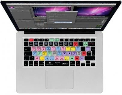 KB Tastatur-Abdeckung Shortcuts Cover Schutz für Premiere Pro MacBook Pro / Air