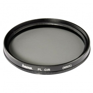 Hama Polarisations-Filter 52mm Pol-Filter circular 2x Vergütet Foto DSLR Kamera