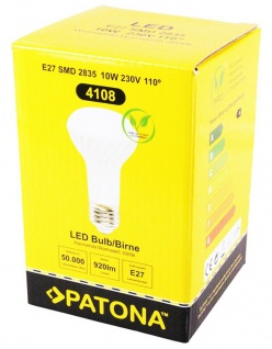 4x Patona LED-Lampe Reflektor Strahler E27 10W / 90W Warm-Weiß R63 Leuchtmittel - Vorschau 4