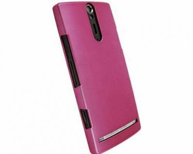 Krusell Schutz-Hülle Cover Case Tasche Schale Hard-Case für Sony Xperia S