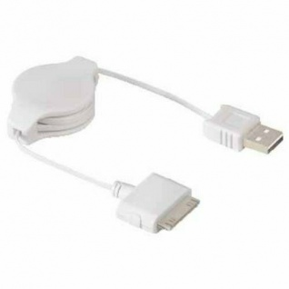 Hama USB-Kabel Roll-Up USB-Stecker - iPod-Stecker für Apple iPod Nano Touch Mini