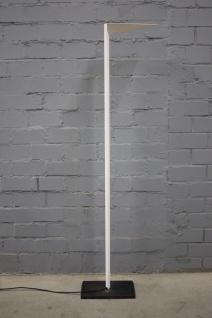 Luxo Amneris Stehlampe Lampe Standlampe Leuchte Licht Weiß Schwarzer Fuß