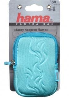 Hama Kamera-Tasche Fancy Neopren 50E Foto-Tasche türkis Digital-Kamera Digicam