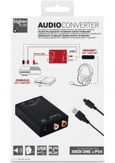 Audio-Konverter Adapter für Turtle Beach Razer Headset an PS4 XBOX One Konsole