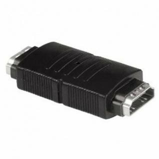 Hama Kompaktadapter Adapter HDMI Kabel Kupplung Schwarz digital
