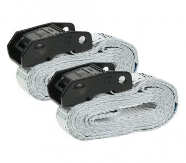 Master Lock 2x Profi Spanngurt 2, 5m 25mm 150kg Zurrgurt Gurt Auto Sicherungsgurt