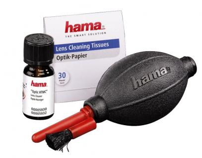 Hama Foto Reinigungs-Set Optic HTMC Dust Ex Optik Kamera Objektiv DSLR Reiniger