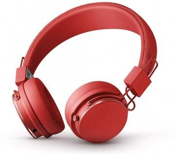 Urbanears Plattan II 2 Bluetooth Headset Tomato Rot On-Ear BT Wireless Kopfhörer