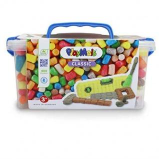 Loick Play-Mais Classic Tool-Box 500 Teile Bausteine Kiste Bunt Basten Werkzeug