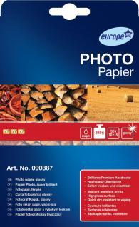 Avery Zweckform 50 Blatt 10x15 cm 260g Photo Papier weiß glänzend Fotopapier