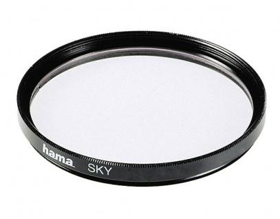 Hama Skylight-Filter 58mm Sky-Filter für Digital Foto DSLR DSLM Kamera Camcorder