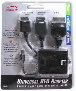 Speedlink RFU TV-Adapter UHF Modulator AV Kabel Antenne für Microsoft XBOX X-BOX - Vorschau 2