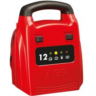 AEG Batterie-Ladegerät 12V 12A LED Anzeige Auto Kfz PKW Batterie-Lader Akku Gel