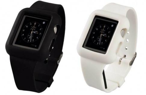 Hama Silikon Uhrenband Armband Sport für Apple Watch iWatch Smartwatch 38mm 42mm