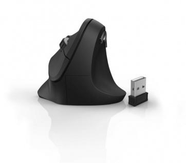 Hama Vertikale Ergonomische Funk-Maus USB EMW-500 Vertical Wireless Mouse PC