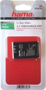 Hama Li-ion Akku für Nokia BLD-3 2100 3200 3300 6220 6610 6610i 7210 7250 7250i