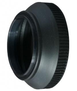 Gummi Gegenlichtblende 55mm faltbar Sonnen-Blende für DSLR DSLM Kamera Objektiv