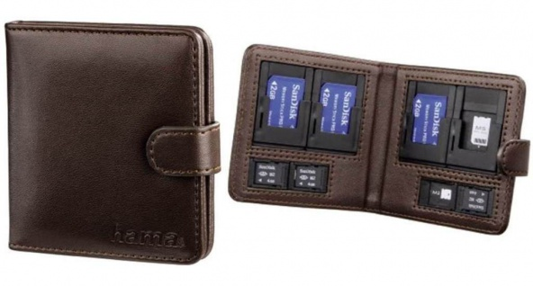 Hama Tasche Etui Case für Sony PSP MS Memory-Stick Pro Duo / M2 Speicher-Karten