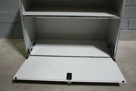 USM Haller Sideboard Druckerport Ablage mit Klappe und Tablar-Auszug Regal - Vorschau 2