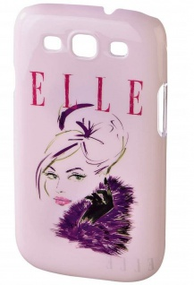 ELLE MA Fashion Cover Schutz-Hülle Handy-Tasche Case für Samsung Galaxy S3 SIII