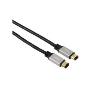 Hama Firewire-Kabel 6 pol. 6/6 DV AV IEEE-1394 i-Link für PC Camcorder Notebook