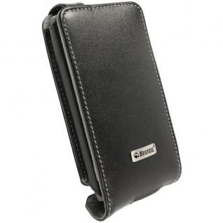 Krusell Orbit Flex Case Leder-Tasche für HTC HD7 Etui Flap Bag Hülle