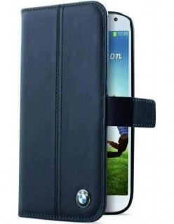 BMW Booklet Cover Klapp-Tasche Schutz-Hülle Case Etui für Samsung Galaxy S4 SIV