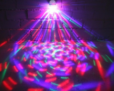 Party LED Glühbirne E27 RGB Licht-Effekt Beleuchtung Disco-Licht Kugel Lampe TOP