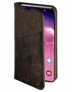 Hama Book Klapp-Tasche Hülle Case Smart-Cover für Samsung Galaxy S10+ S10 Plus 3