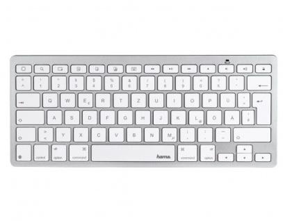 Hama Bluetooth Tastatur BT Keyboard für Apple iPhone XS XR X 8 7 6s 6 SE / Plus - Vorschau 3