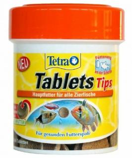 Tetra Tips 450x Futter-Tabletten Fisch-Futter Zierfischfutter Hafttabletten Tabs - Vorschau 2
