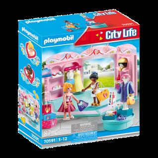 Playmobil 70591 Fashion Store Kleidungs-Laden Shopping Designer Spielzeug-Set