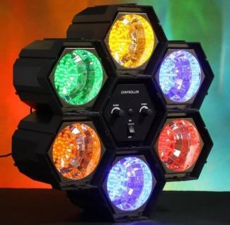 Bigben Party 6 Kanal LED Lichtorgel Licht-Effekt Show Musiksteuerung DJ Disco - Vorschau 2