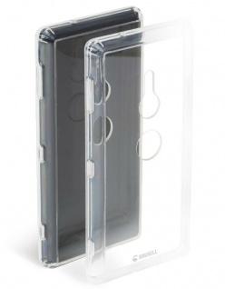 Krusell Cover Klar Hard-Case Schale Schutz-Hülle Tasche für Sony Xperia XZ2