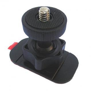 Klebe-Halterung Halter Stativ 360° Kugel-Gelenk für Action-Cam Kamera Camcorder