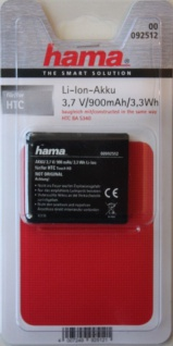 Hama Li-Ion Akku für HTC BA-S340 Touch HD HD1 T8282 Blackstone BLAC160 BA S340