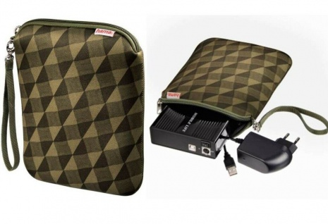 "Hama Universal Festplatten-Tasche Case Hülle 3, 5"" Zoll externe HDD PC Notebook"