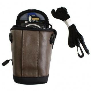 Hama Kamera-Tasche Hülle Case Bag für Olympus Pen E-PL9 E-PL8 Pen-F TG-5 TG-6 .. - Vorschau 4