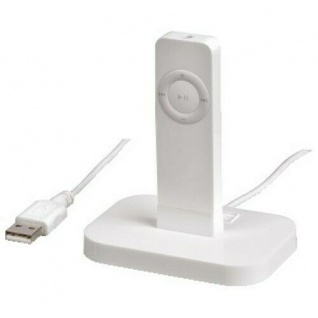Hama USB Lade-Station Docking für iPod Shuffle MP3-Stick USB-Stick PC USB-Port