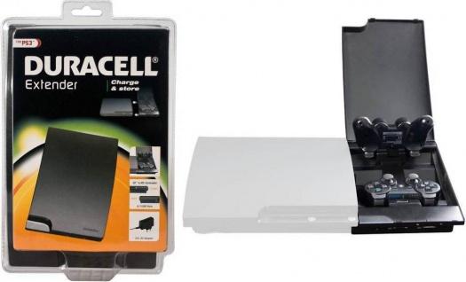 Duracell Box Dual Ladestation Ladegerät für PS3 Wireless Controller Docking