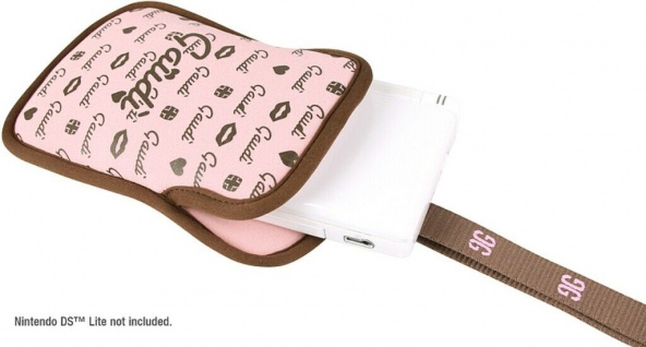 Gaudi Tasche PINK Schutz-Hülle Case Etui für Nintendo 3DS DSi DS Lite .. Konsole