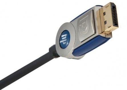 Monster HP Displayport-Kabel 2, 4m v1.1a Gold Metall-Stecker 3D DP Display Port