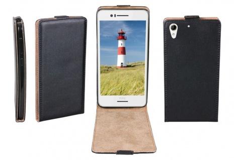 Patona Slim Flip Cover Klapp-Tasche Schutz-Hülle Cover Case für HTC Desire 728G